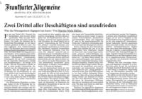 Prof. Dr. Däfler: Frankfurter Allgemeine Zeitung