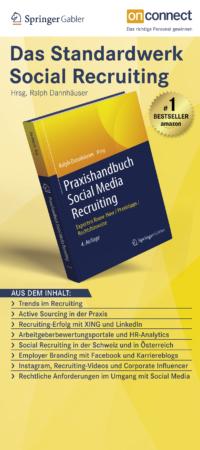 Roll-up Banner Praxishandbuch Social Media Recruiting
